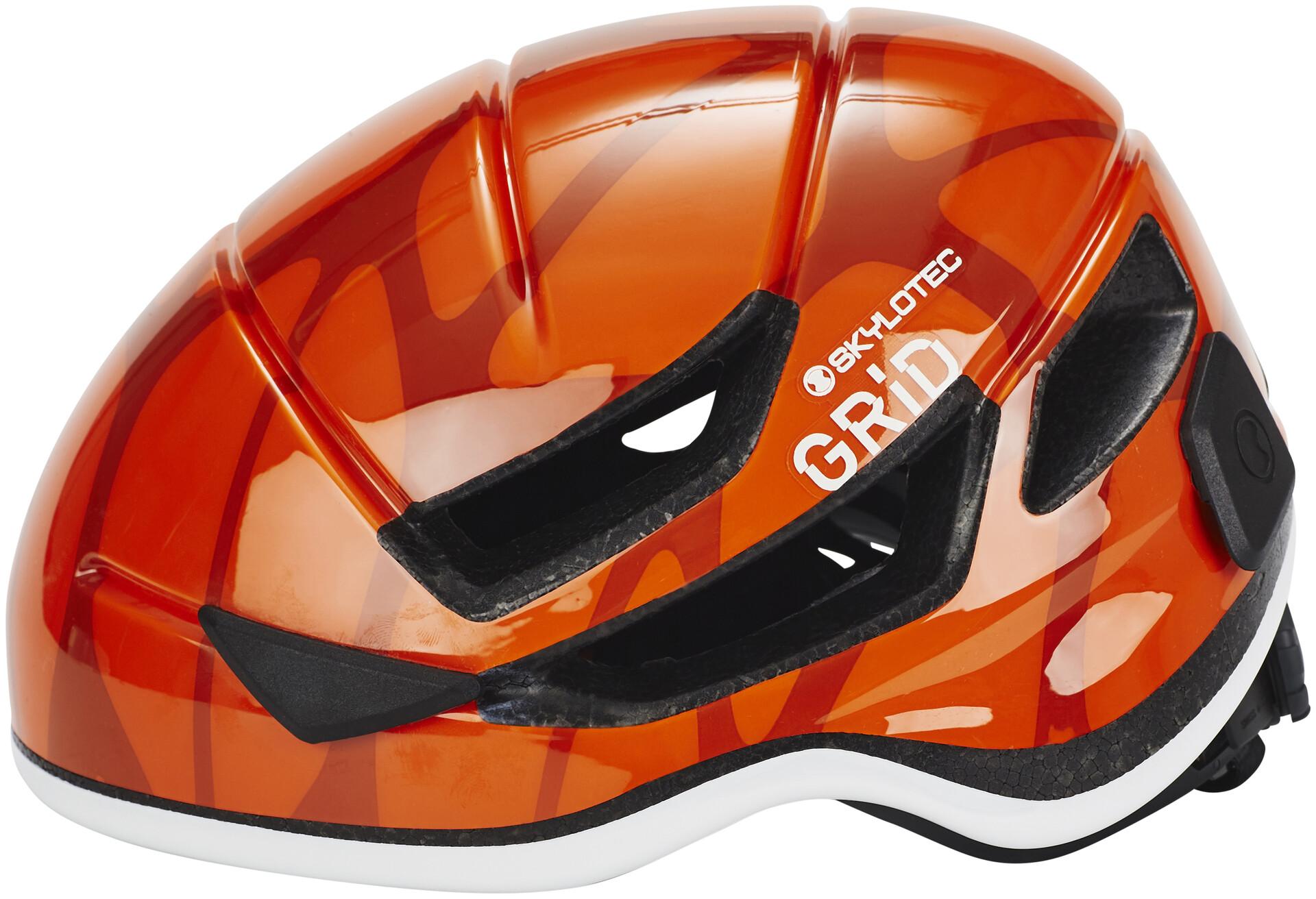 Skylotec Klettergurt Petzl : Skylotec grid vent helmet orange campz at